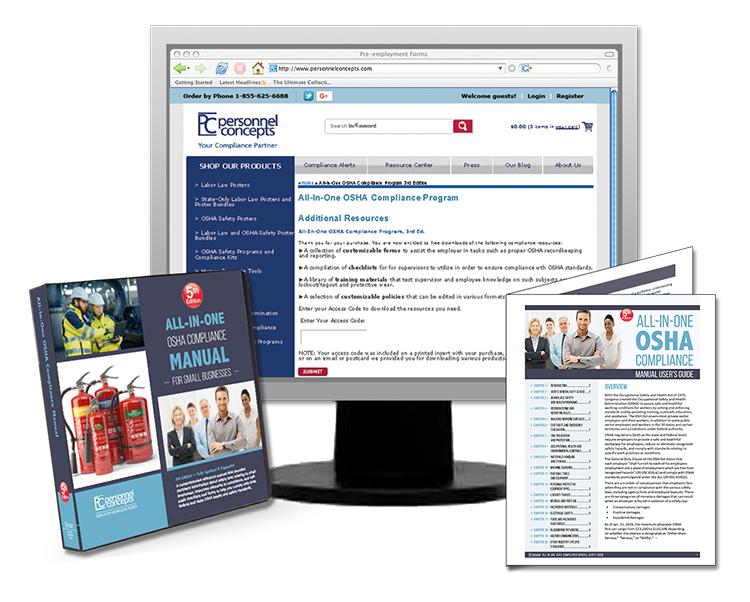 All-On-One  OSHA  Compliance  Manual, 5th Edition