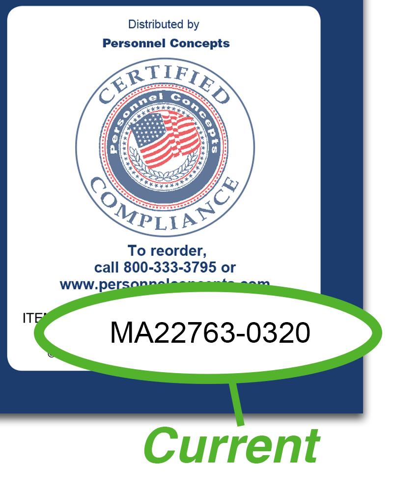 Massachusetts  Compliance  Checklist