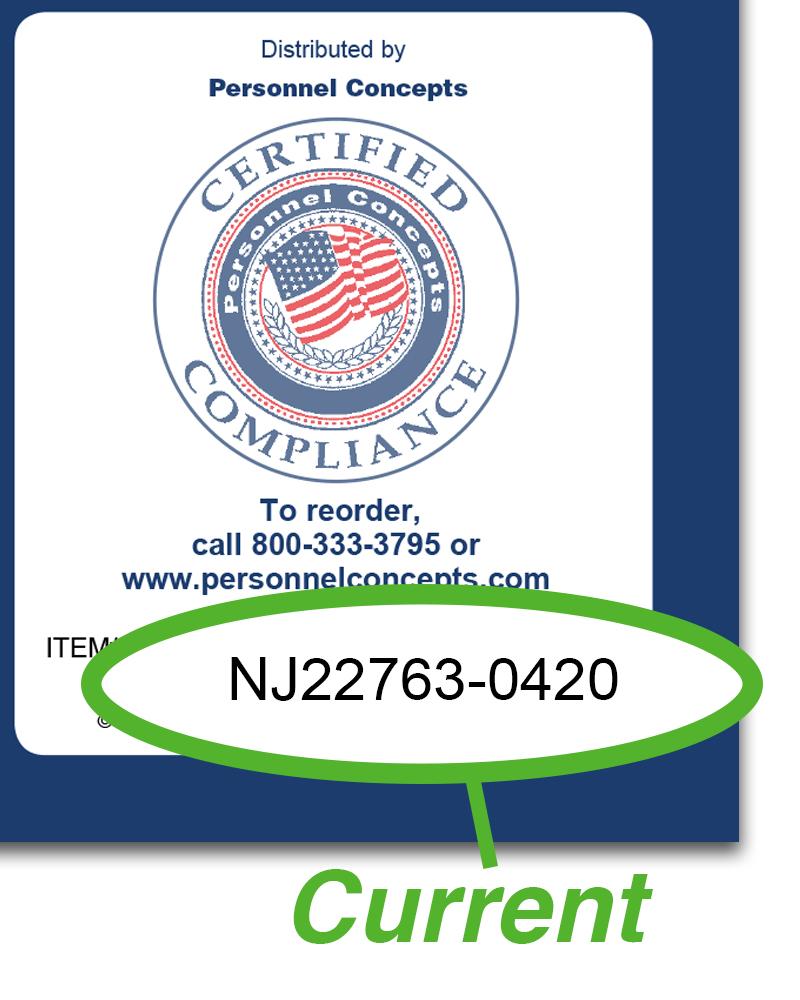 New  Jersey  Compliance  Checklist